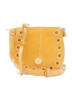 See By Chloé Kriss mini leather and suede cross-body bag