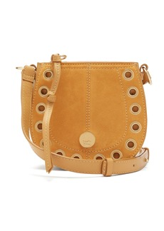 See By Chloé Kriss mini suede and leather cross-body bag