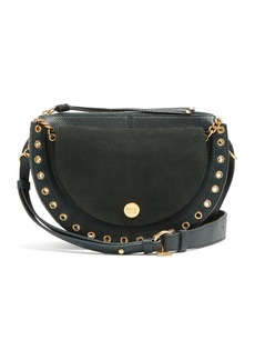 See By Chloé Kriss suede and leather cross-body bag
