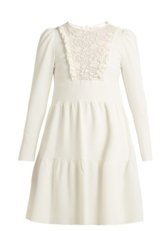 See By Chloé Lace crêpe dress