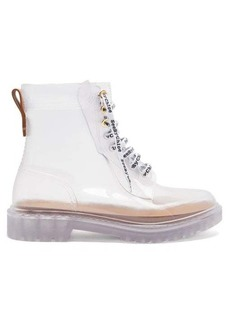 See By Chloé Laced PVC ankle boots