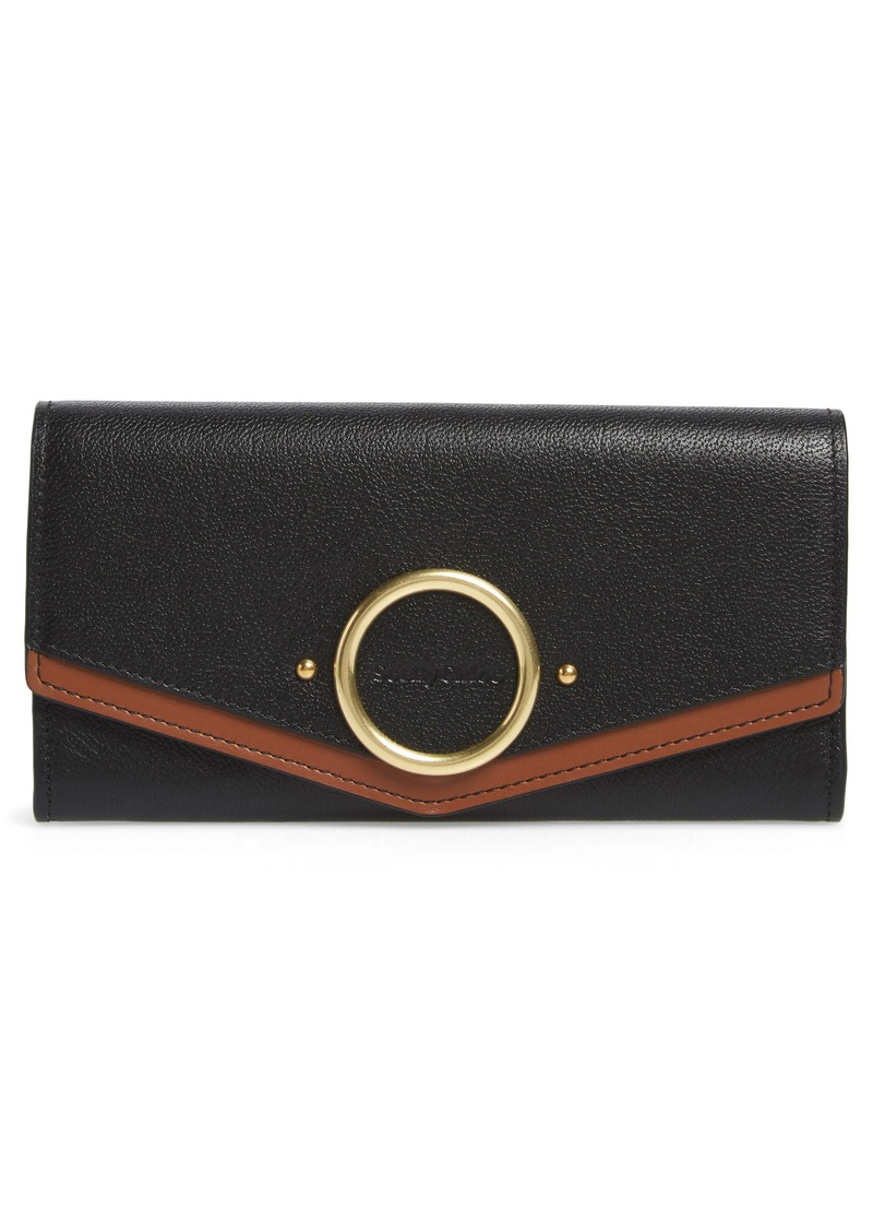 See by Chloé Large Aura Leather Wallet