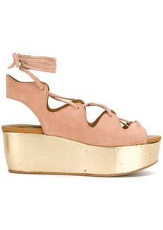 See By Chloé Liana wedge sandals - Nude & Neutrals