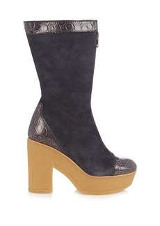 See By Chloé Lytton suede ankle boots