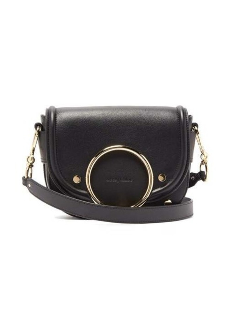 See By Chloé Mara grained-leather cross-body bag