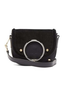 See By Chloé Mara leather and suede cross-body bag
