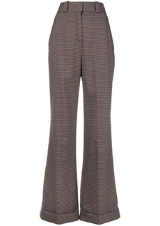 See By Chloé masculine wide-leg trousers - Brown
