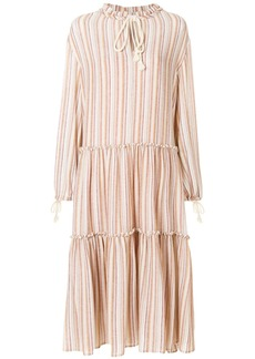 See By Chloé micro pleated dress - Multicolour