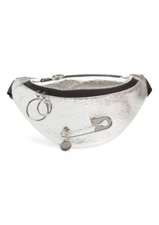 See by Chloé Mindy Metallic Leather Belt Bag
