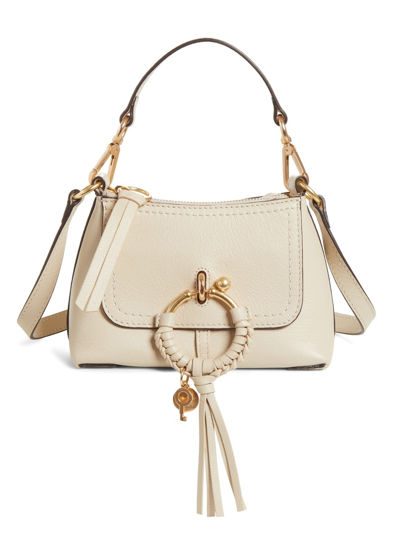 See by Chloé Mini Joan Leather Crossbody Bag