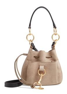 See by Chloé Mini Tony Leather Bucket Bag