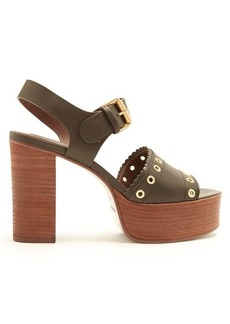 See By Chloé Nora leather platform sandals