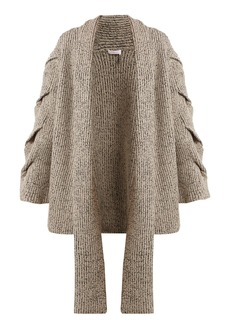 See By Chloé Oversized cable-knit cardigan