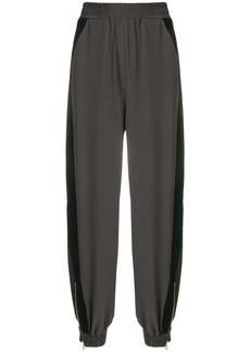 See By Chloé panelled harem trousers - Grey