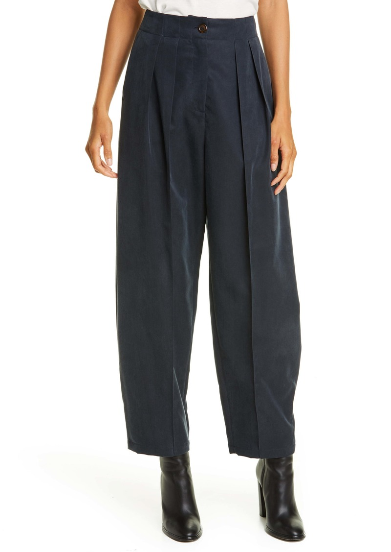 See by Chloé Pleated Barrel Leg Trousers