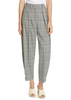 See by Chloé Pleated Crop Carrot Pants