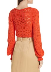 See by Chloé See by Chlo? Pointelle Sweater