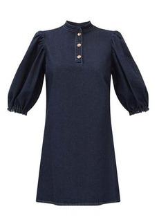 See By Chloé Puff-sleeve denim dress