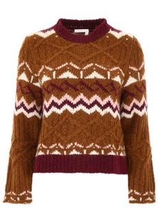 See by Chloé Pullover With Intarsia