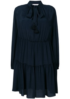 See By Chloé pussy bow dress - Blue