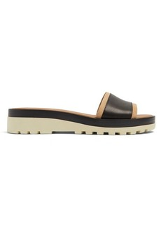See By Chloé Robin leather slides