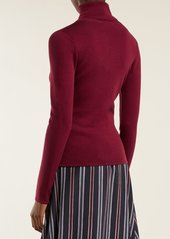 See By Chloé Roll-neck cotton-blend sweater