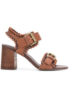 See By Chloé Romy City whipstitch sandals - Brown