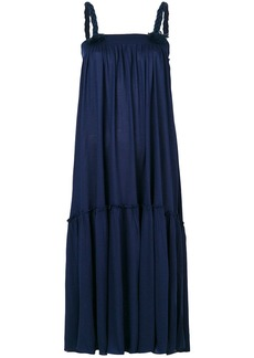 See By Chloé rope strap midi dress - Blue