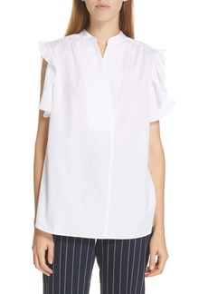 See by Chloé Ruffle Band Collar Blouse
