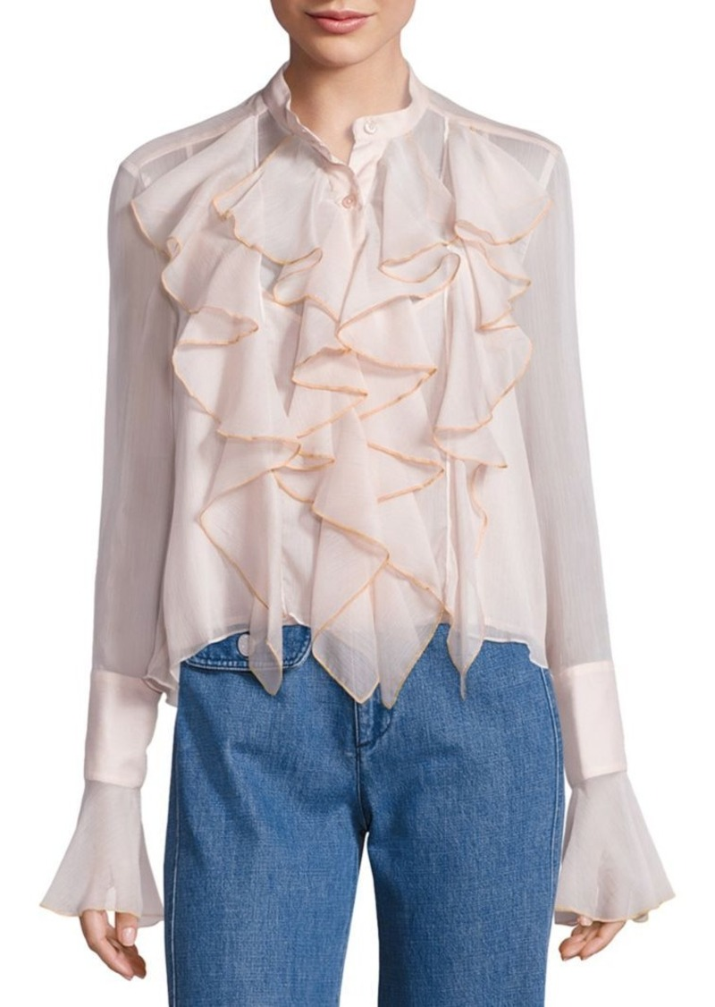 See by Chloé Ruffle Blouse