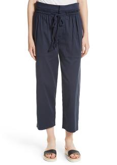 See by Chloé Ruffle Trim Drawstring Pants