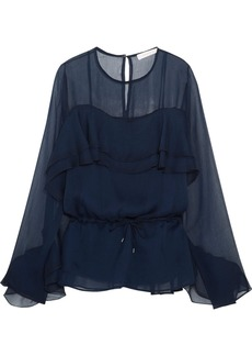 See by Chloé Ruffled chiffon blouse