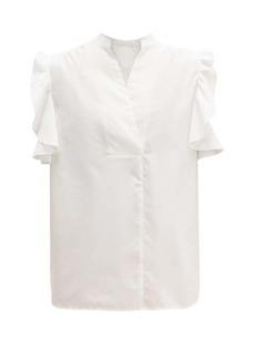 See By Chloé Ruffled cotton shirt