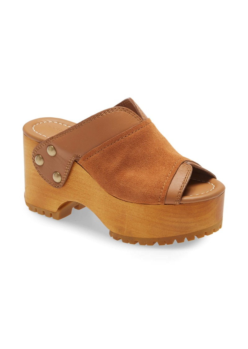 See by Chloé Saya Platform Slide Sandal (Women)