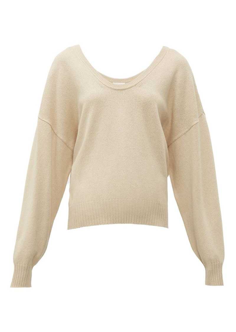 See By Chloé Scoop-neck wool-blend sweater