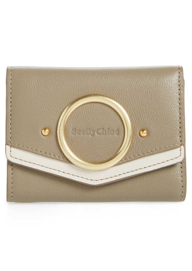 See by Chloé Small Aura Leather Wallet