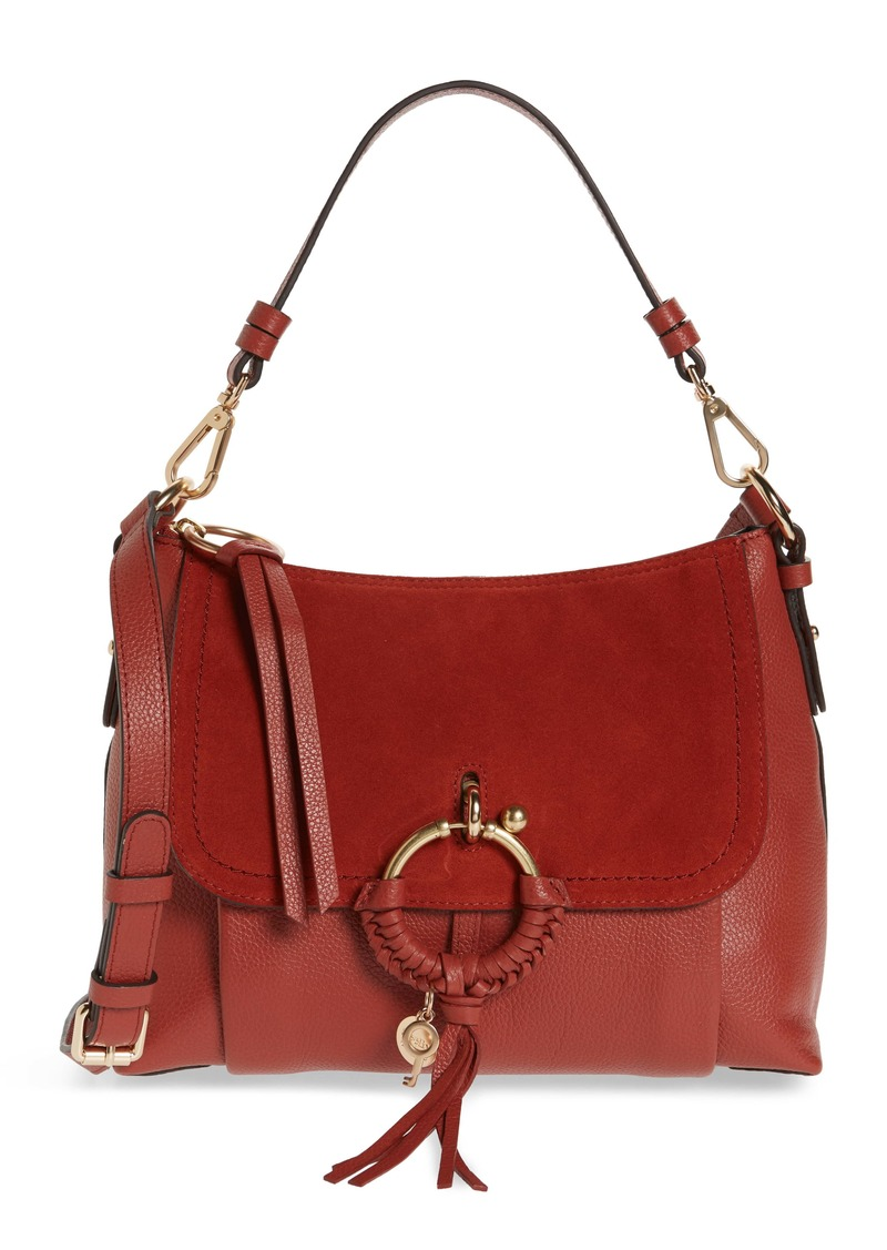 See by Chloé Small Joan Leather Shoulder Bag