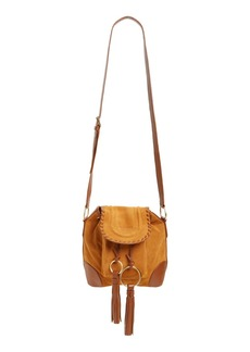 See by Chloé Small Polly Leather Bucket Bag