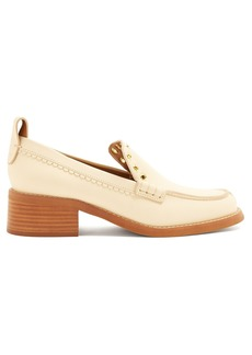 See By Chloé Stacked heel leather loafers