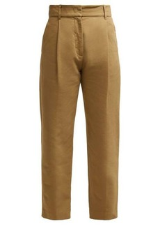 See By Chloé Straight-leg cotton trousers