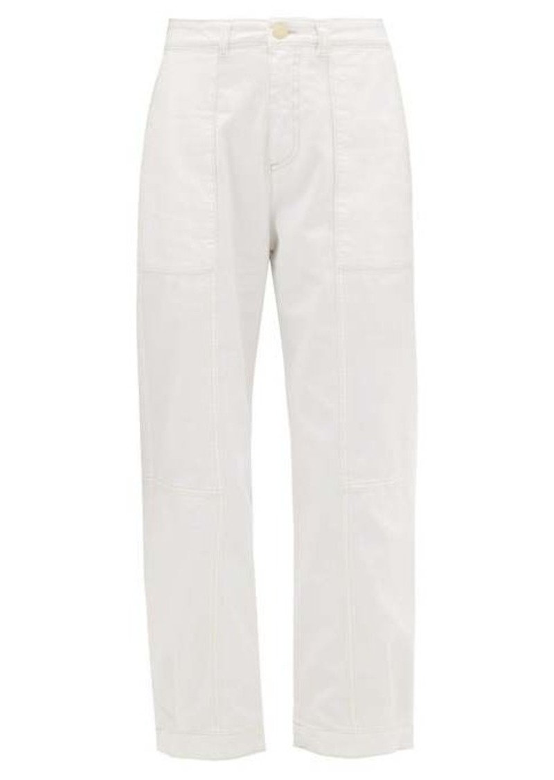 See By Chloé Stretch twill trousers
