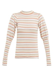 See By Chloé Striped cotton-blend sweater