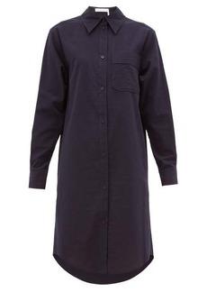 See By Chloé Striped cotton shirt dress