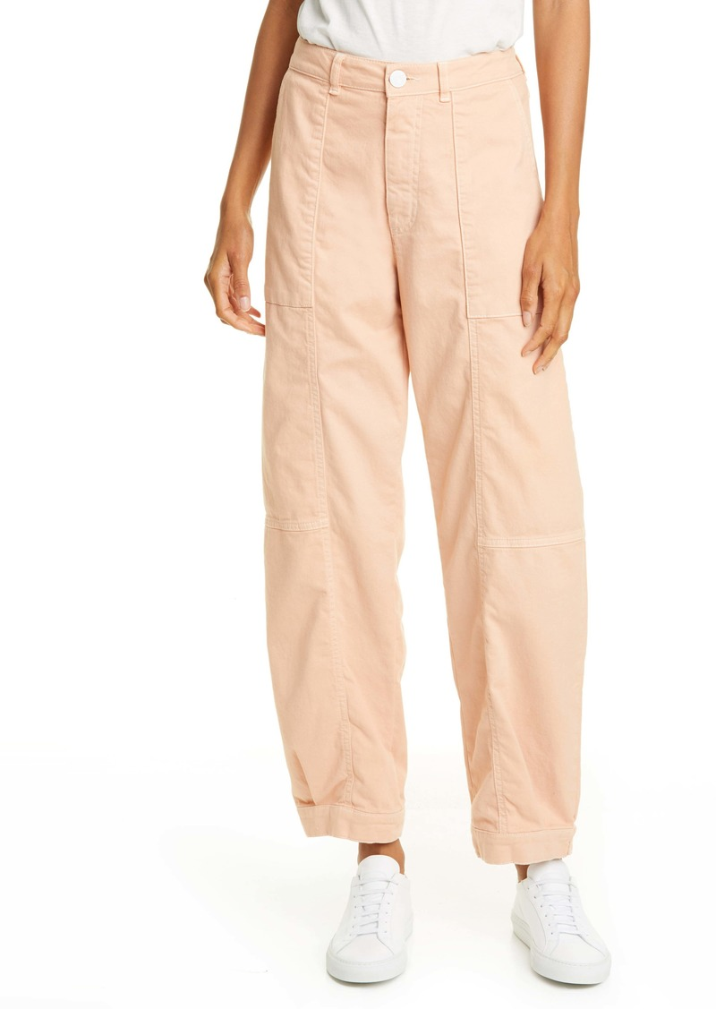 See by Chloé Tab Hem Straight Leg Trousers