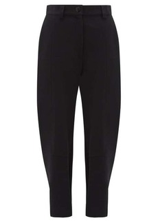 See By Chloé Tabbed cuff twill trousers