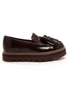 See By Chloé Tassel platform leather loafers