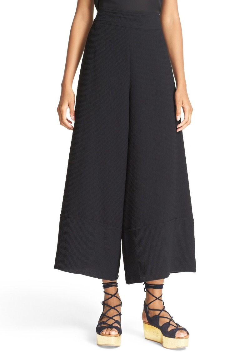 See by Chloé Textured Jacquard Culottes