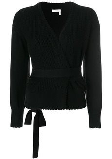 See by Chloé textured wrap cardigan