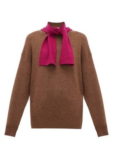 See By Chloé Tie-neck wool sweater