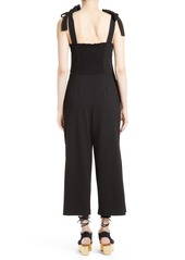 See by Chloé Tie Strap Jumpsuit